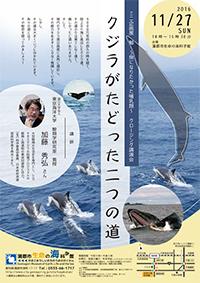講演会「クジラがたどった二つの道」